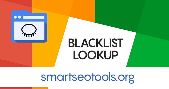 Blacklist Lookup