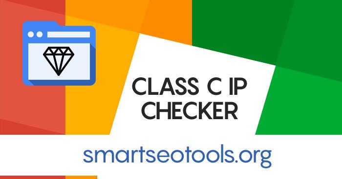 Class C Ip Checker