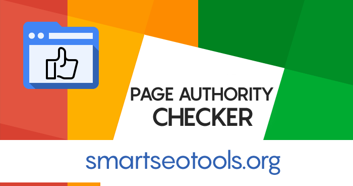 Page Authority Checker